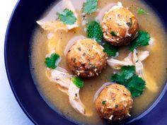 Latin Cuisine: Sopa de Albóndigas de Pollo (Chicken #Meatball #Soup). #recipe