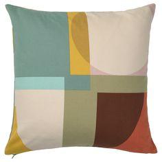 Dix Blue, Large Cushion Covers, Throw Pillow Covers, Throw Pillows, Meme Design, Recycling Facility, Ikea Family, Polyurethane Foam, Home