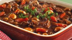 Meat Recipes, Rage, Beef, Food, Red Peppers, Beef Recipes, Meat, Meal, Eten