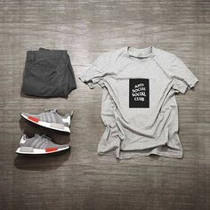 WEBSTA @ wdywt - 👍or👎: by for on-feet photos for outfit lay down photos Urban Outfits, Cool Outfits, Casual Outfits, Men Casual, Urban Fashion, Mens Fashion, Style Fashion, Fashion Ideas, Der Gentleman