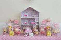 A while back, we featured this teeny tiny dessert table that would be any doll's decadent dream! Today, we are back featuring a party with a dollhouse theme. Louisa and Melissa from Little Big Company forwarded us these photos of a teeny dollhouse theme party she created for her daughter's 7th birthday. Louisa called upon …