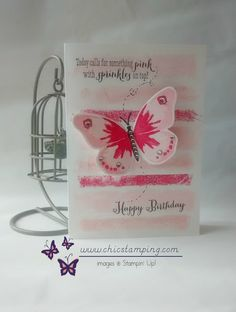 happy birthday butterfly Phyline 1 - Photo de Cards and more 2016 - Chic Stamping Diy Gift Box, Diy Box, Birthday Cards, Happy Birthday, Gift Packaging, Project Life, Stampin Up Cards, Sprinkles, Paper Crafts