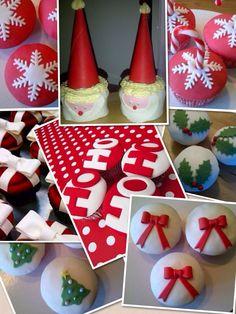 Kerst cupcakes www.cakesfromjessica.nl