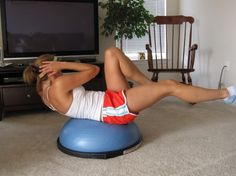 11 great things to do with a Bosu Ball