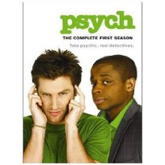 Psych Season 1. WATCHING IT RIGHT NOW!!