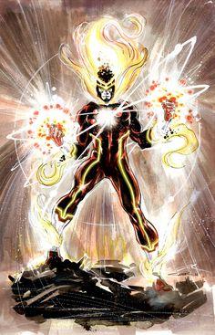 Firestorm New 52 first pitch by Cinar.deviantart.com on @deviantART