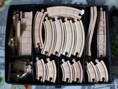 For some people, collecting toy trains isn't just another hobby or interest; it's a way of life. The concept of collecting toy trains has been around for centuries. Nearly everyone has some type of connection to toy trains, whether it Kid Toy Storage, Playroom Organization, Lego Storage, Storage Hacks, Playroom Ideas, Organization Ideas, Organization Station, Playroom Design, Teacher Organization