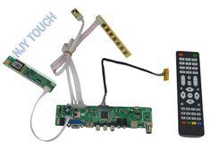LA.MV56U.A New Universal HDMI USB AV VGA ATV PC LCD Controller Board for 15.4inch 1280x800 LP154WX4-TLB4 CCFL LVDS Monitor Kit