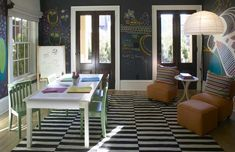 Chalkboard Painted Playroom  I think I will do the rest of the walls also! Love!!!