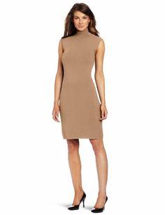 Calvin Klein Mock Neck Dress