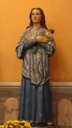 Santa Maria, St Maria Goretti, Saints, Statues, Fictional Characters, Sao Paulo, February, Art, Effigy
