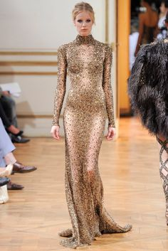 Zuhair Murad Fall 2013 Couture Collection Photos - Vogue Possibly Glimmer's interview dress