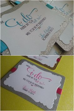 Cute 'Will you be My #Bridesmaid?' Cards