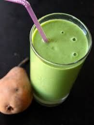 Banana Pear Cilantro Smoothie | Raw Food Society BC