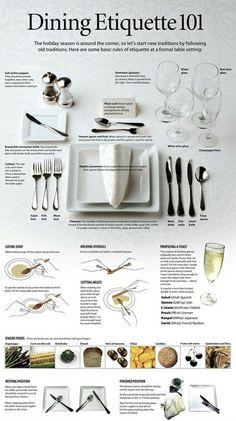 table étiquette