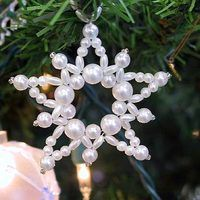 Beaded ornaments are traditionally handmade, and generations of families have made them as Christmas crafts from manufacturers' kits or hand designed them. Instructions can depend on the approach you want to take: Create your own designs, use premade kits or buy old ornaments for a truly vintage decoration.