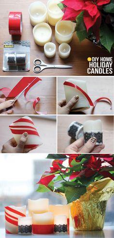 I Spy DIY: MY DIY | Holiday Candles