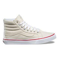 separation shoes 7dacb a95c7 Leather Canvas SK8-Hi Slim   Shop Shoes At Vans
