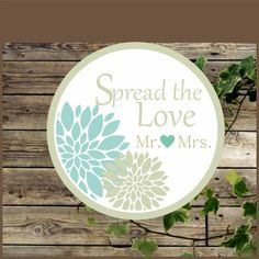 This listing is for an INSTANT DOWNLOAD PDF file.  You will receive the file link in your email after you make payment by paypal. The file has 12 round labels 2.5.inches ea... #etsy #wedding