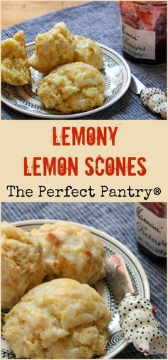 Brighten up your morning with these tangy lemon scones!