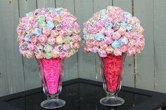 Bright and Fun Dum Dum Party Centerpiece Candy by AnnaMaesCottage, $25.00