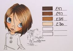 Heather's Hobbie Haven: Hair Color 56 - Copic Markers...