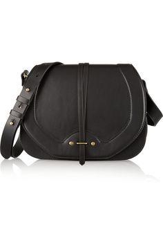 Jérôme DreyfussNestor leather and suede shoulder bag