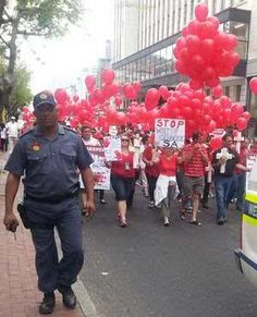 Red, Black and White | AdrianAtherton @adrianjatherton The new South Africa. #RedOctober give it a rest already!