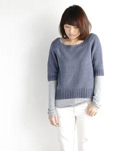 【楽天市場】作品♪fz149-1-sweaterラグランセーター:毛糸ZAKKAストアーズ