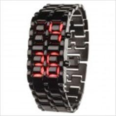Fashion Silicone Band LED Touch Screen Digital Wrist Watch - Black x Digital Wrist Watch, Cool Gadgets, Stainless Steel Bracelet, Bracelet Watch, Watches, Band, Stylish, Bracelets, Leather
