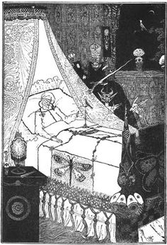 the nightingale by harry clarke