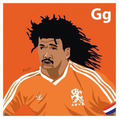 G is for Ruud Gullit. #atoz #tpitr
