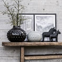 Rustic Scandinavian - Scandinavian simplicity meets the rough-hewn design language of nature | Home decoration, designed by Eightmood | AW16
