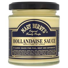 I keep Mary Berry's Hollandaise sauce close at hand - ready for a quick Eggs Benedict brunch at the weekend.