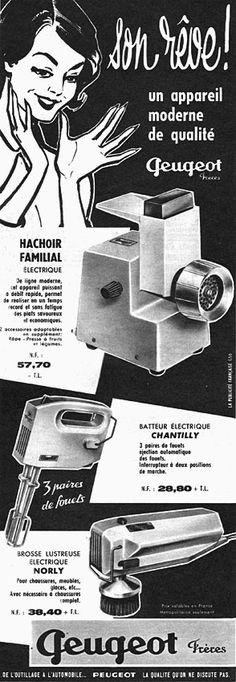 Publicité Peugeot 1961