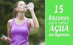 Te decimos cuales son los beneficios de tomar agua en ayunas. Empieza a hacerlo desde hoy si quieres una mejor salud y un mejor físico