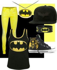 batman outfit (comic fair with niall) Batman Outfits, Emo Outfits, Cute Outfits, Rock Outfits, Party Outfits, Batman Shoes, Tomboy Outfits, Themed Outfits, Batman Love
