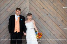 April wedding in Iowa at The Celebration Farm. #bride #photography