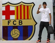 ~ Neymar Jr arriving at FC Barcelona ~