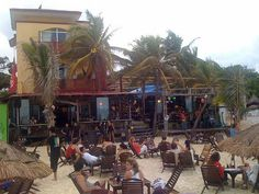 Fusion Bar & Restaurant (Playa del Carmen, Mexico) - Decent drinks, plenty of seating on the beach, live music