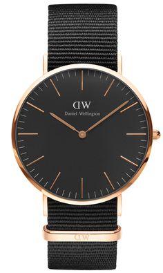 DANIEL WELLINGTON DW00100148 Herrenuhr Cornwall Rose Gold 40 mm jetzt günstig im uhrcenter Uhren Shop bestellen. ✓Geprüfter Online-Shop.
