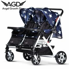 Find More Strollers Information about 2016 New Arrival Baby Stroller Pushchairs For Newborns Twin Buggy Cart Double Folding Handcart Baby Stroller Cheap baby stroller,High Quality pushchairs and strollers,China stroller shade Suppliers, Cheap stroller wheel from Angel Growth Diary on Aliexpress.com