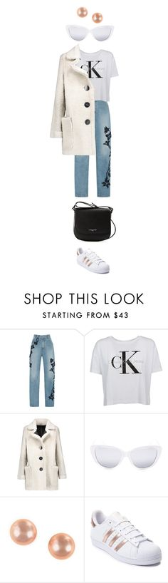"""""""Comfort"""" by catmlnguyen on Polyvore featuring Jonathan Simkhai, Karl by Karl Donoghue, Elizabeth and James, Effy Jewelry, adidas and Lancaster"""