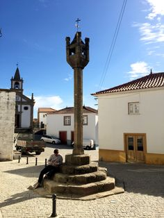 Provesende village monument, Portugal Douro Valley, Travel Inspiration, Terrace, Travel Destinations, Portugal, Places To Go, Europe, Explore, Landscape