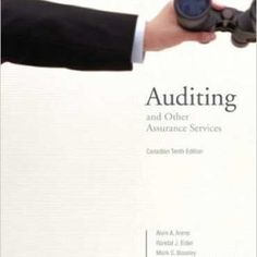 Test bank downloadable for principles of auditing and other test bank downloadable for auditing and other assurance services canadian 10th edition arens fandeluxe Gallery