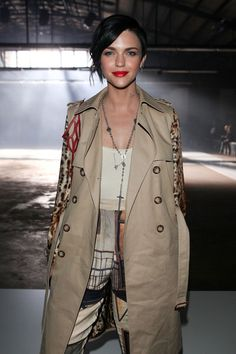 Ruby Rose Photos: RAFW S/S 2011/12 - Josh Goot Arrivals and Front Row
