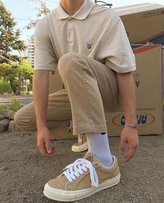Mode Outfits, Retro Outfits, Vintage Outfits, Vintage Fashion Men, Guy Outfits, Casual Outfits, Simple Outfits, Men Street, Street Wear