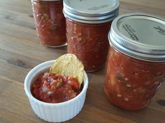 My favorite thing to can is salsa. I can't get enough of the delicious smell as it wafts from the kitchen and into the rest of the house. And I'm all about being steadily employed in th…