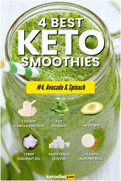 Smoothies are a great breakfast or snack that will keep you full for hours. Here are low-carb keto smoothie recipes that are ketogenic-approved.