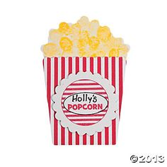 """Colossal Coaster Popcorn craft """"Over The Top"""" Thumbprint Craft Kit"""